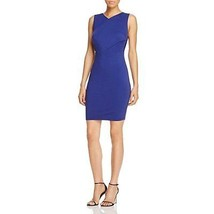 CUPCAKES and CASHMERE Lapis Cross Front Stretch 'Auburn' Sheath Dress NWT M - $19.95