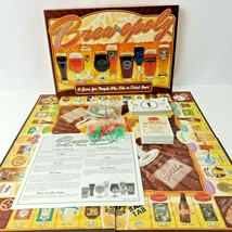 Brewopoly Trading Board Game For People Who Like To Drink Beer Late For The Sky - $19.80