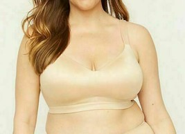 Catherines Beige Full-Coverage Smooth No-Wire Bra NWT Multiple Plus Size... - $19.89
