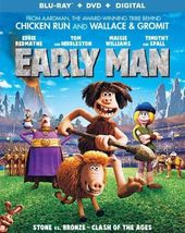 Early Man [Blu-ray+DVD, 2018]