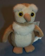 """Heads & Tales Gund Plush Owl Stuffed Animal Small 4 1/2"""" Mini - $12.24"""