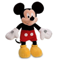 MICKEY MOUSE PLUSH TOY 15 INCH   - $7.50