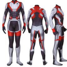 Avengers Endgame Quantum Realm Cosplay Costume Superhero Captain America... - $39.99