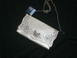 Disney Store Cinderella Adult Gold Faux Leather Clutch/Shoulder Purse Ne... - $45.99