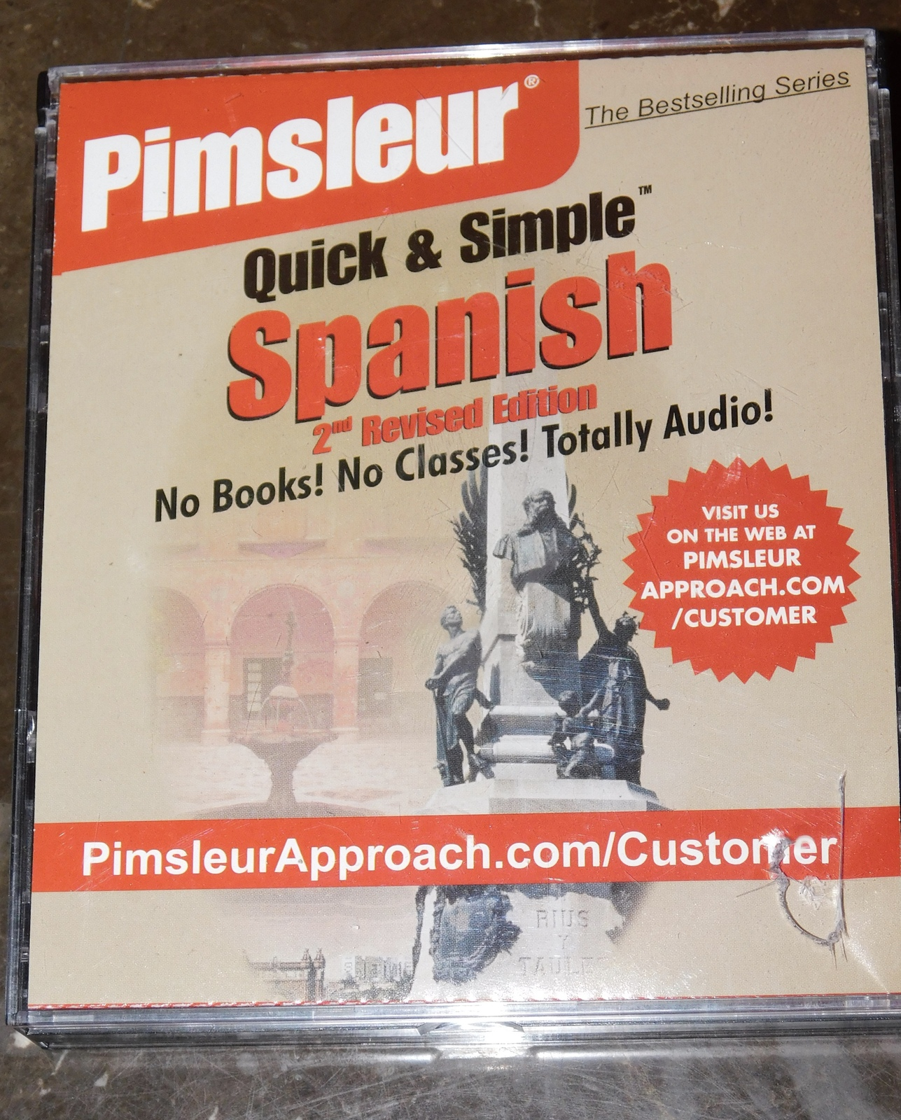 Pimsleur Quick Simple Spanish 4 CD Set 2nd Revised Edition 8