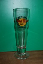 Hard Rock Cafe Las Vegas Save the Planet Tall Beer Glass Pilsner Bar HRC - $14.95