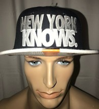 "Nike New York Yankee's Ny ""New York Knows"" Snapback Hat Cap - £20.83 GBP"