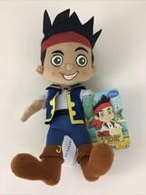 """Disney Jake And The Never Land Pirates Jake Plush Stuffed 8"""" Doll Toy 20... - $13.32"""