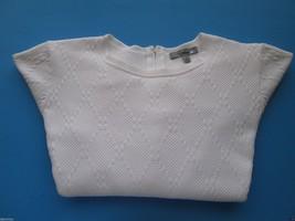 Classiques Entier Crewneck Long Sleeve Women' Sweater White M - $25.64