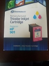 Dataproducts Remanufactured Tricolor Inkjet Cartridge Replaces HP 901 - $19.48
