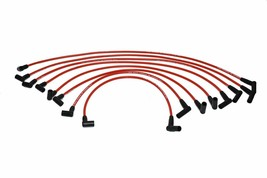 SBF Small Block Ford 221 255 260 289 302 8.0mm Silicone Spark Plug Wires Set Red image 2