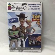 Disney Pixar Toy Story 4 Colorforms Activity Sticker Fun Set NEW Woody B... - $7.91