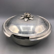 Vintage Silvercrest by Everlast Casserole Serving Dish Silver Cooking Fo... - $24.74