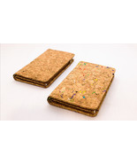 EcoQuote Compact 2 Button Zip Wallet Handmade Eco Friendly Cork Material... - $27.50