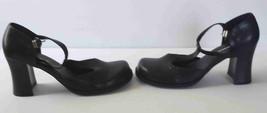 dress heels shoes women's size 9 1/2  T-Strap Platform Pumps  - $39.60
