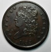 1833 CLASSIC HEAD HALF CENT Coin Lot A660