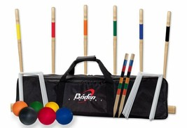 Deluxe Series Croquet Set, Durable Nylon Carrying Bag, 2-6 Players Leisu... - $92.46