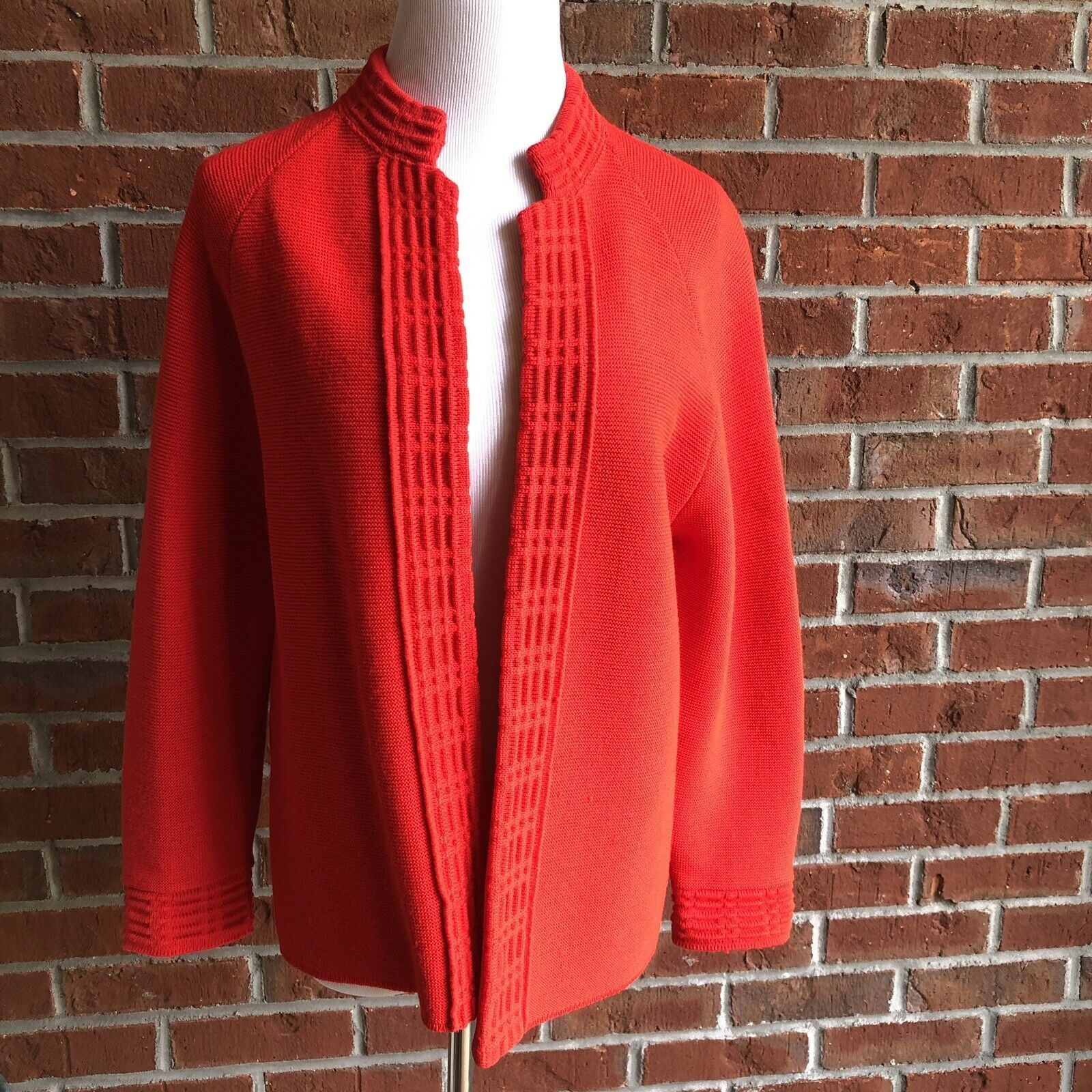 Primary image for Hedy of California Vintage Mandarin Collar Cardigan - M/L (see measurements)