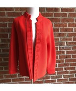 Hedy of California Vintage Mandarin Collar Cardigan - M/L (see measureme... - $43.64
