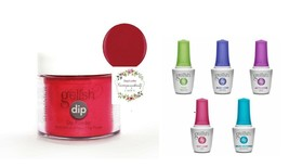 Gelish Dip Powder + Gelish Essentials Kit Ruby Two Shoes - 189 - $52.46