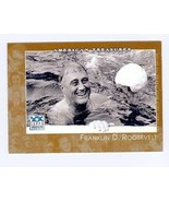 Franklin Delano Roosevelt trading card (President of the United States) ... - $4.00