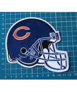 """CHICAGO BEARS C FOOTBALL NFL HELMET 5"""" LOGO PATCH SEW ON EMBROIDERY - $20.00"""