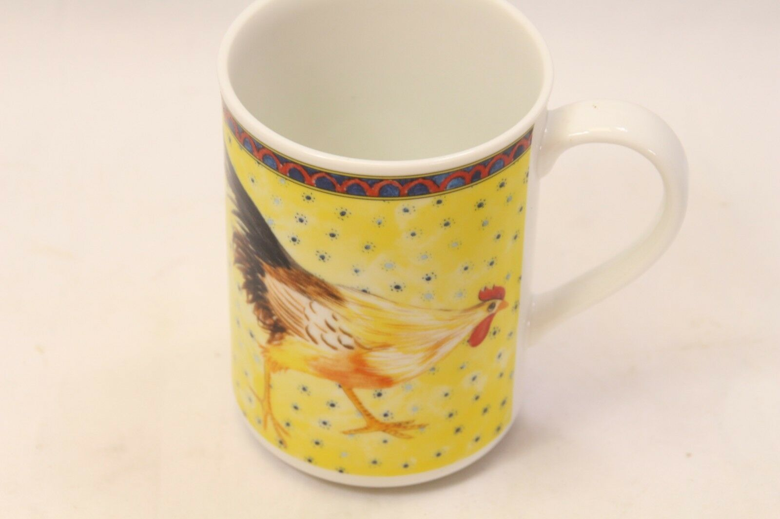American Atelier Petite Provence Rooster Mugs Set of 12 image 3
