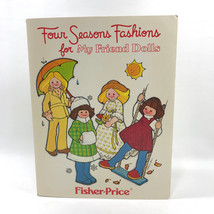 Vintage Four Seasons Fashions For My Friend Doll Fisher Price Uncut Pattern - $29.69