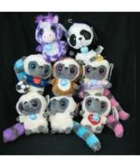 YooHoo & Friends Lot of 8 Plush Sound Big Eye Panda Giraffe Bush Baby ... - $31.65