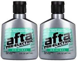 Mennen Afta Pre-Electric Shave Lotion, 3 Ounce Pack of 2 image 2