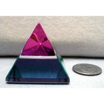 Scholer Smooth Handcut Crystal Pyramid image 1