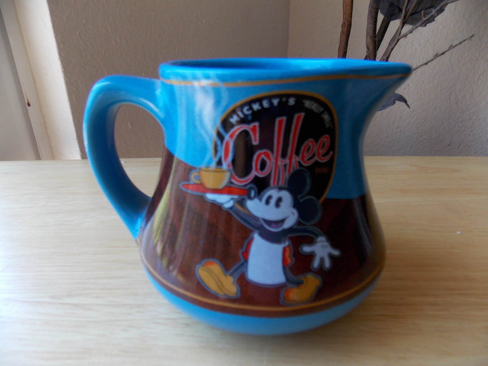 Primary image for Mickey's Coffee Brand Pitcher
