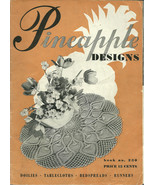 Pineapple Designs Booklet No. 230 J.P. Coats 1946 - $9.98