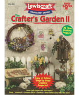 Crafters Garden II Leaflet No. 8801 by Lewiscraft - $9.98