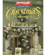 Christmas Collection X Craft Leaflet Book No. 8702 Lewiscraft - $9.98