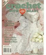 Crochet With Heart Leisure Arts Magazine June 2001 Volume 6 No. 2 - $9.98