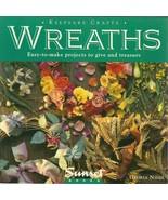 Wreaths Keepsake Crafts Sunset Book by Gloria Nicol - $9.98