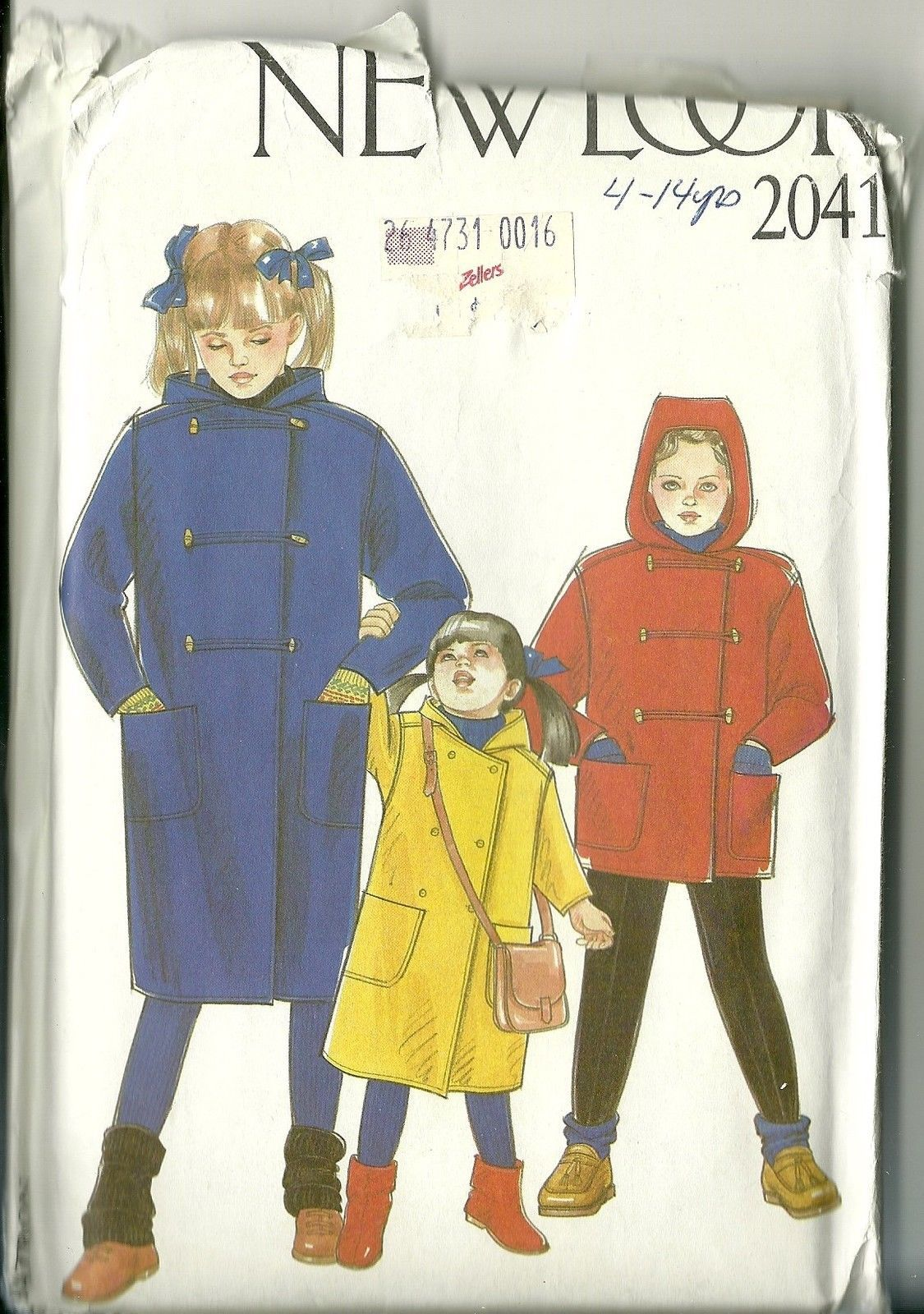 092c0a24ce64 New Look Sewing Pattern 2041 Childrens Coat and 47 similar items. 57