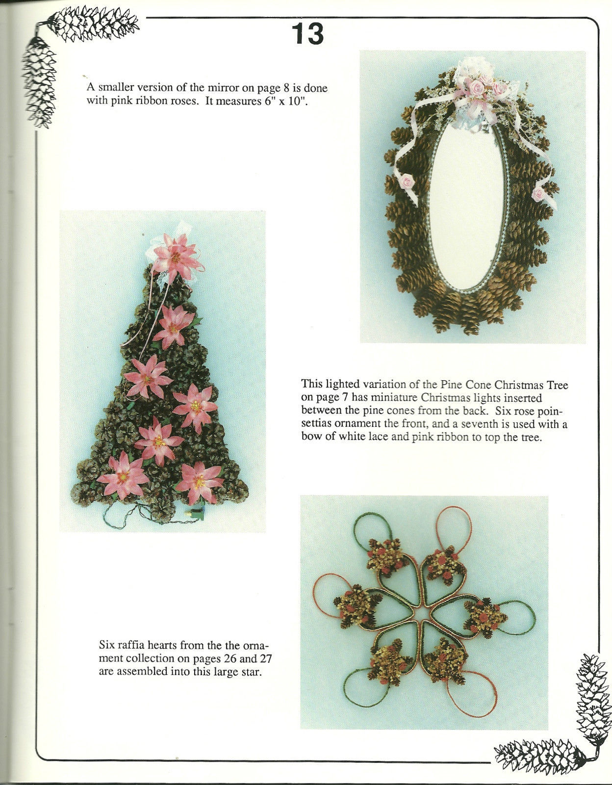 Primarily Pine Cones Hot Off The Press Craft Book No 145 Kaye Cheney