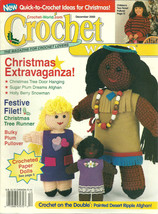 Crochet World Magazine December 2000 Vol. 23 No. 6 - $9.98