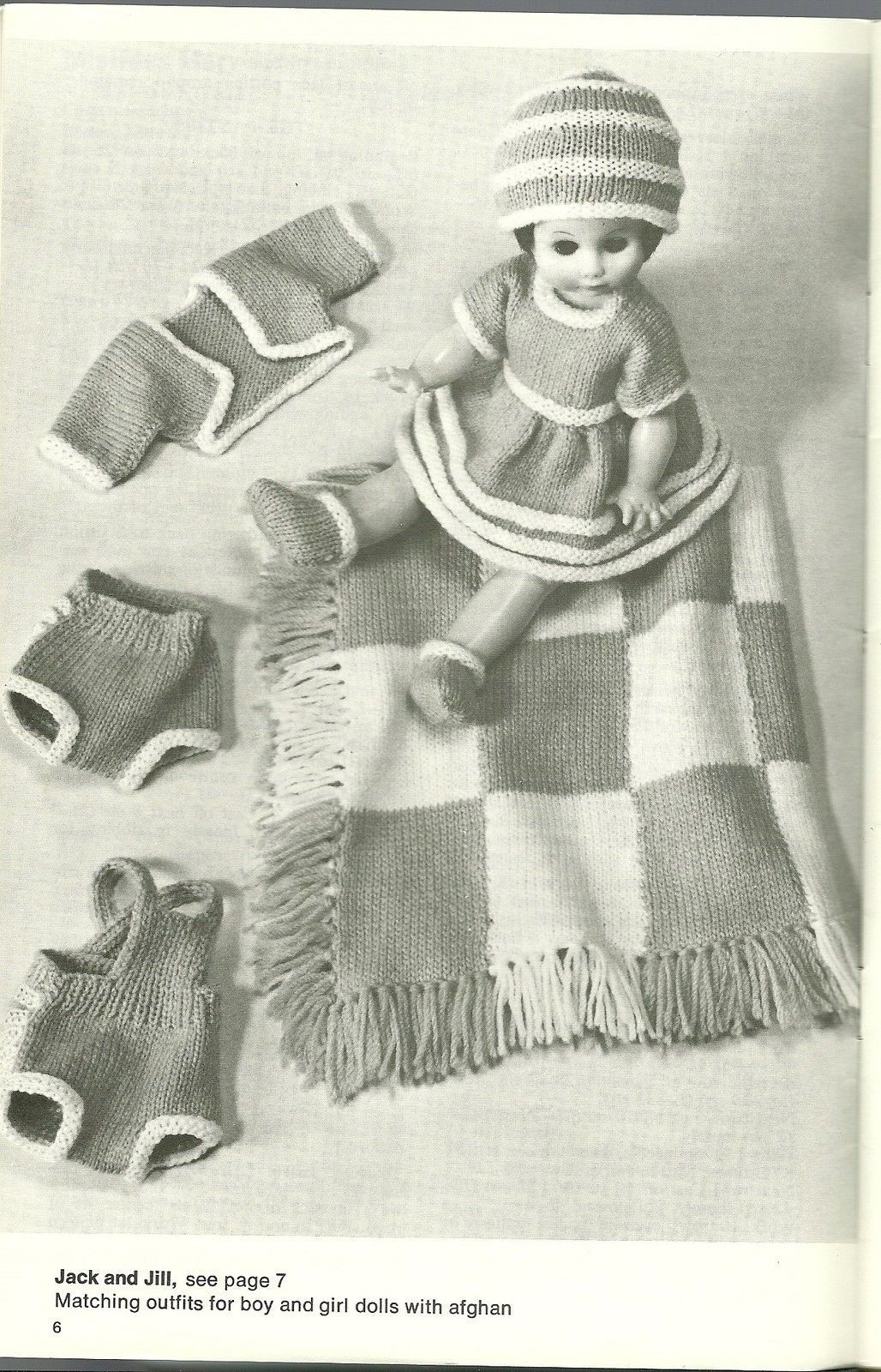 Just For Dolls Pattern Book No. 139 Patons Beehive Barbie Ken Clothing