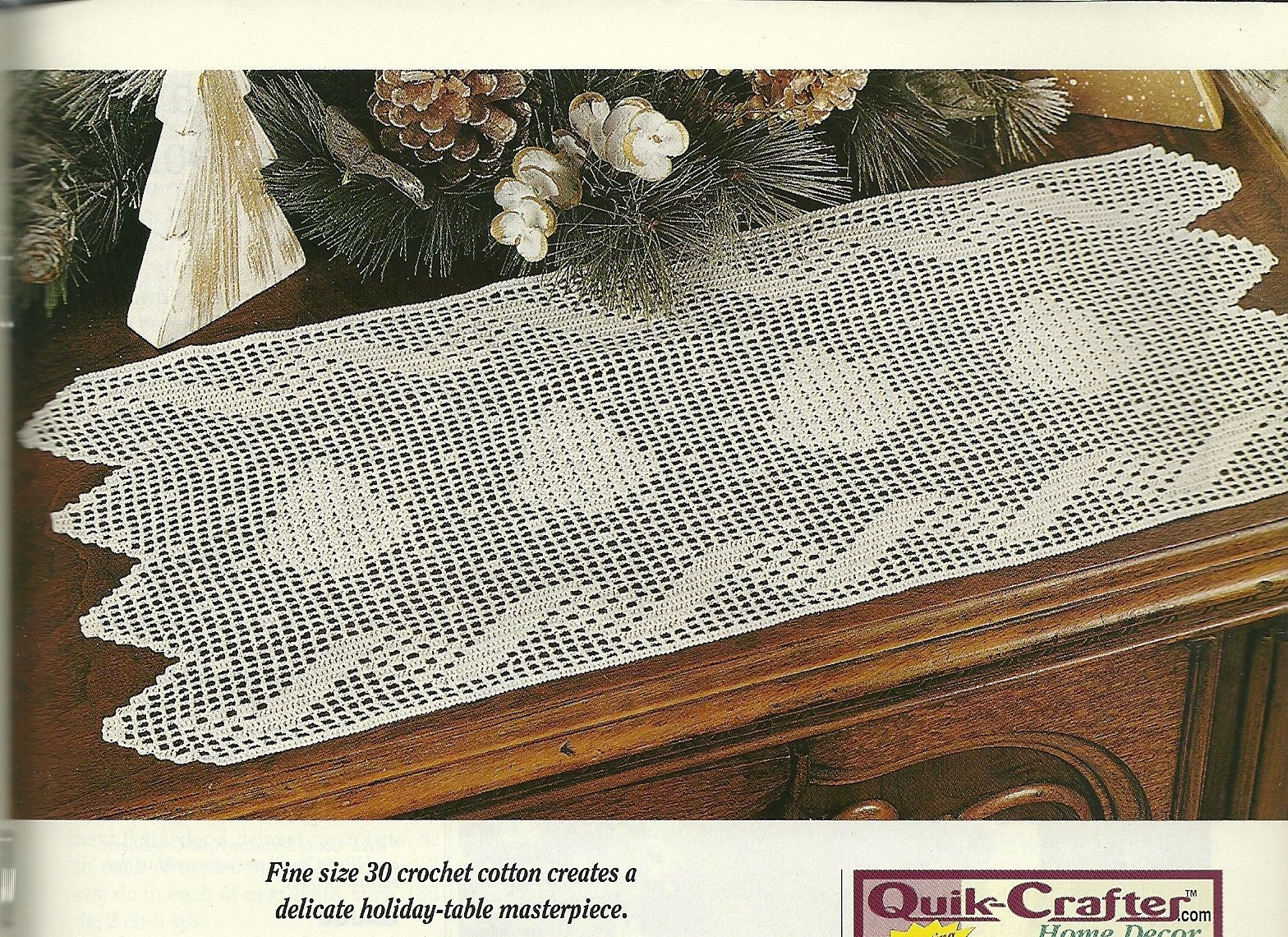 Crochet World Magazine December 2000 Vol. 23 No. 6