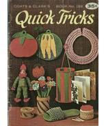Quick Tricks Coats & Clark's Knit Crochet Book No. 188 - $9.98