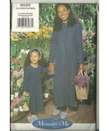 Vogue Sewing Pattern 9525 Misses Womens Girl Mommy & Me Dress 3-6X and 8... - $9.99