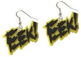 Funky Punk EEK! EARRINGS Mardi Gras Teacher Emo Jewelry - $6.99