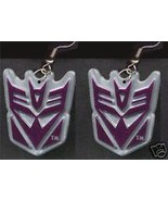 Big Funky MEGATRON EARRINGS Transformers Punk Costume Comics Character J... - $6.99