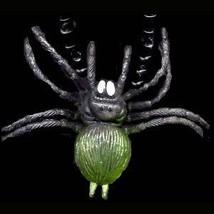 Funky Giant TARANTULA SPIDER PENDANT NECKLACE Punk Gothic Amulet Costume... - $6.99