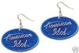 Funky AMERICAN IDOL EARRING Music Singer DJ Fan Jewelry - $6.99