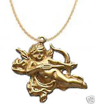 Funky CUPID CHERUB WING NECKLACE Greek God Love Jewelry - $7.99