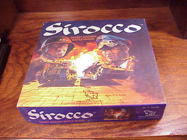Sirocco Desert Raiders Battle Game, no. 1023, from TSR, missing 2 pieces - $9.95